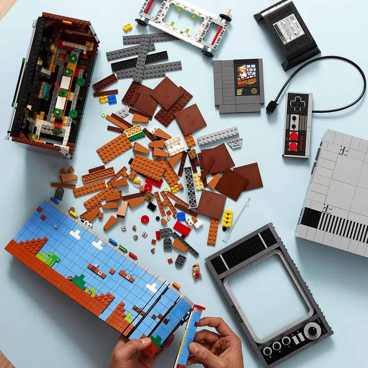 PRESSURE LEGO NES